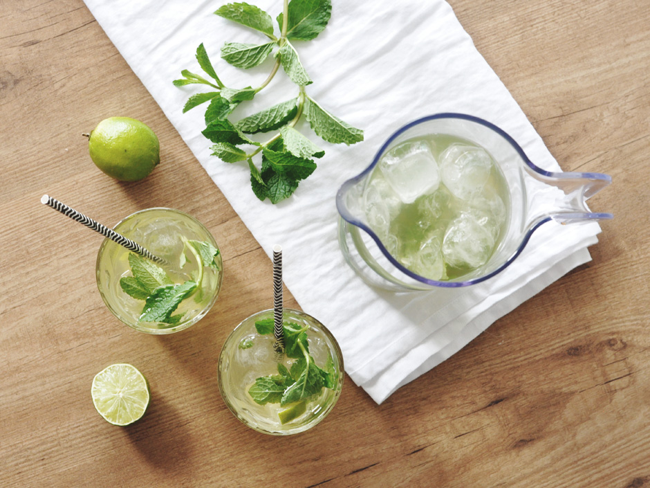 Mojito ice tea